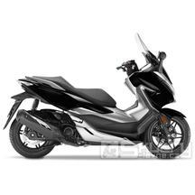 Honda Forza 300 - AKCE SKLADOVÝ STROJ - barva černá lesklá