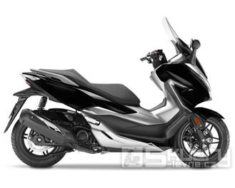 Honda Forza 300 - barva černá lesklá