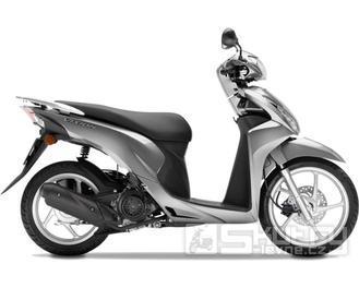 Honda Vision 110 - barva stříbrná