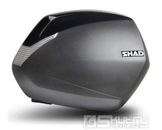 Boční kufry SHAD SH36 - černé/karbon