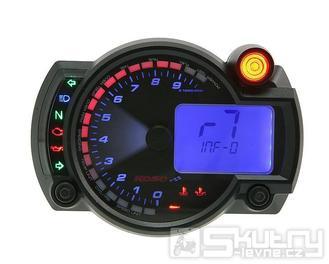 Digitální přístrojová deska Koso - Motocykl / ATV [RX2N+] - varianta provedení  - 10000rpm