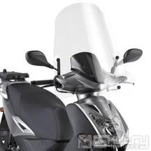 441A čiré plexi Givi pro Kymco Agility 50-125-150 R16 (08-21), vxš720x660 mm
