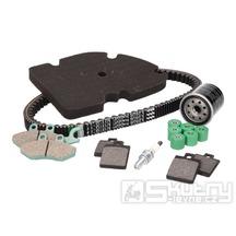 Sada pro údržbu motoru a brzd na skútru Piaggio MP3 250ccm