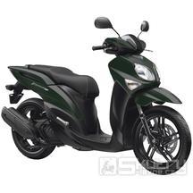 Yamaha Xenter 125 - barva zelená