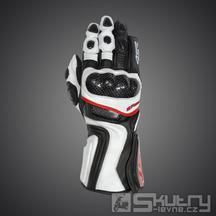 Moto rukavice 4SR SR 001 - barva bílá, velikost S
