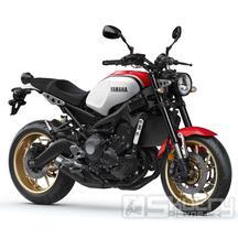 Yamaha XSR900 - barva bílá/červená