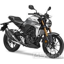 Honda CB300R Neo Sports Café - barva stříbrná