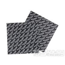Karbonové lístky Malossi o rozměru 100x100mm a tloušťce 0,35mm
