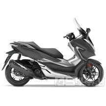 Honda Forza 300 E4 - barva černá matná