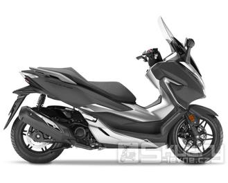 Honda Forza 300 - barva černá matná