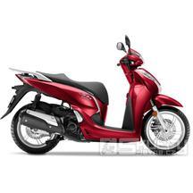 Honda SH 300i - barva červená