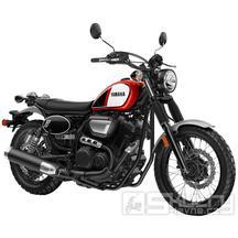 Yamaha SCR950 - barva červená