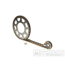 Řetězová sada AFAM 14/54 zubů pro Hyosung XRX a Motorhispania RX 125ccm
