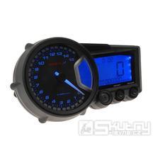 Rychloměr KOSO Digitální Cockpit - RX2