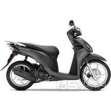 Honda Vision 110 - AKCE 53900Kč - barva matná šedá