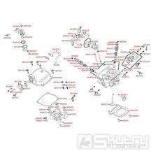 E02 Hlava válce a ventilové víko - Kymco Maxxer 300 Wide MMC