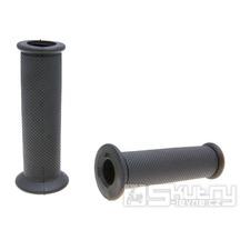 Gripy Domino 3721 On-Road v černém provedení s otevřeným koncem o délce 120mm