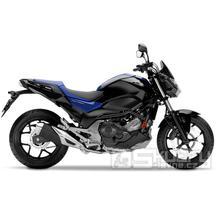 Honda NC750S DTC - barva modrá