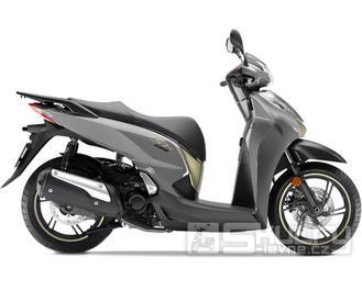 Honda SH 300i + Smart top Box - barva šedá