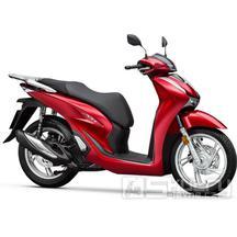 Honda SH 125i - barva červená