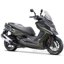 Kymco DT X360 350i ABS E5 - barva tmavě zelená
