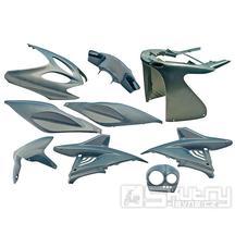 Kapotáž Aerox Nitro - 9 dílů - flipflop modrá
