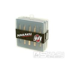 Sada trysek Naraku pro karburátor PWK o velikosti 110 až 128