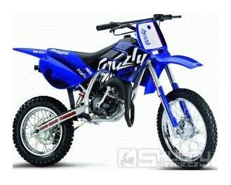 """Malaguti Grizzly 12"""" - pozastavená výroba - barva modrá"""
