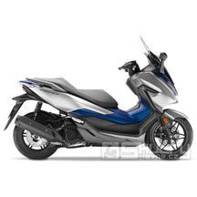Honda Forza 125 ABS - barva stříbrná