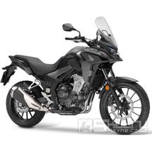 Honda CB500X - barva černá matná