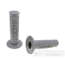 Gripy Domino A260 Off-Road soft v šedém provedení o délce 120mm