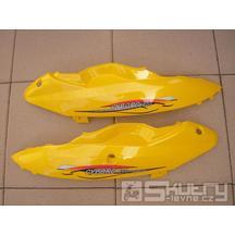 Levá spodní podsedadlová část lakovaná - model Eco - barva dílu žlutá