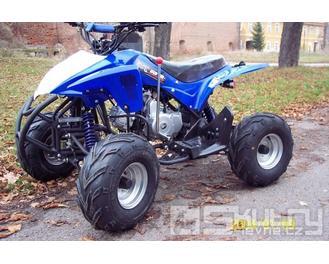 Čtyřkolka Tiger 110 ccm - barva modrá