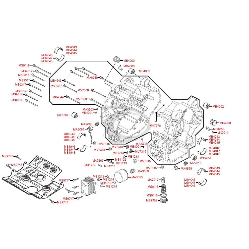 E01 Kliková skříň - Kymco MyRoad 700i ABS SAADAB