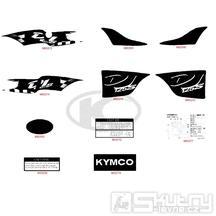 F22 Samolepky - Kymco DJ 125 S KN25GA