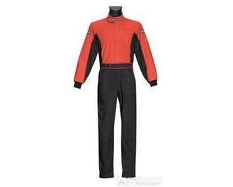 Kombinéza Sparco PIT STOP - velikost S, barva černá/červená