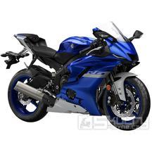 Yamaha R6 - barva modrá