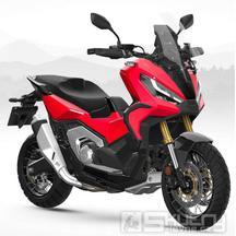 Honda X-ADV E5 - barva červená
