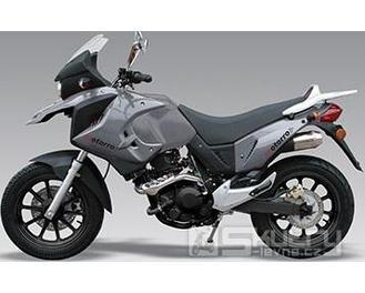 Motorro VELAS BM 400 - barva stříbrná
