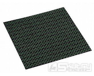 Karbonový materiál klapek Hebo