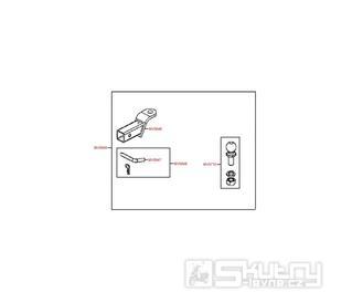 F30 Tažné zařízení - Kymco MXU 500 IRS DX LAA0DD