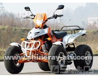 Shineray 350 STE - barva oranžová