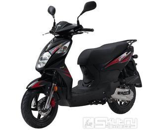 Sym ORBIT II 50 - barva černá