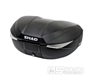 Zadní kufr 46-58L černý / carbon (SHAD SH58X)