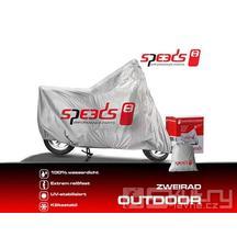Venkovní krycí plachta Speeds velikost M pro motocykly a skútry - střední 225 x 90 x 117cm