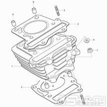 02 Válec - Hyosung RX 125 SM E3