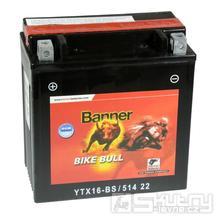 Gelová baterie Banner YTX16-BS