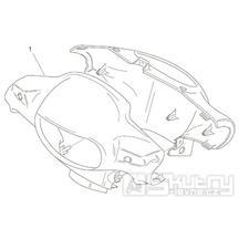28.05 Kapotáž předního světla - Scarabeo 100 2T (motor Yamaha) 2000 - ZD4RE0...