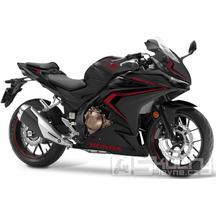 Honda CBR500R - barva černá matná