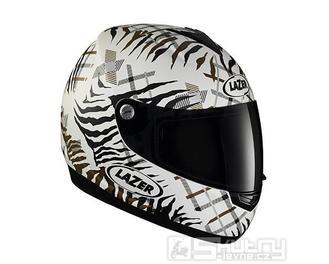 Přilba Lazer VERTIGO Zebra bez AC - velikost XS, barva bílá/černá
